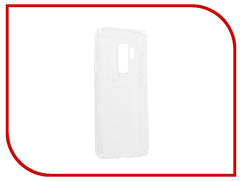 Аксессуар Чехол для Samsung Galaxy S9 Plus Onext Silicone Transparent 70561 аксессуар чехол для samsung galaxy j3 2016 onext silicone transparent 70508