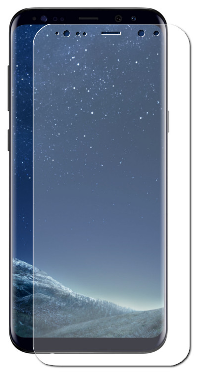 Защитное стекло Onext для Samsung Galaxy S8 Plus 3D Transparent 41267