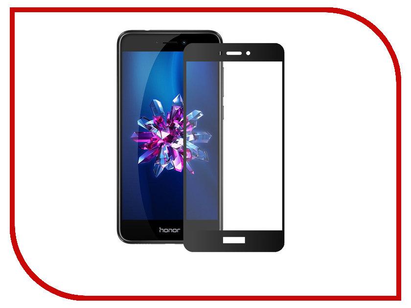Аксессуар Защитное стекло для Huawei Honor 8 Lite Onext с рамкой Black 41427 и а крылов и а крылов басни