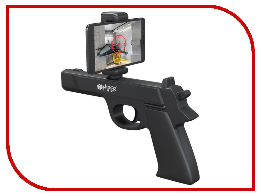 Игровой пистолет Hiper ARGUN200 Black HIP-ARGUN200-BK hiper argun 501 black red игровой контроллер