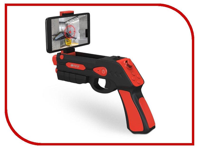 Игровой пистолет Hiper ARGUN501 Black-Red HIP-ARGUN501-BKRE смарт часы hiper babyguard 1 розовый розовый [bg 01pnk]