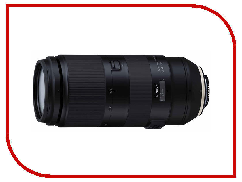 Объектив Tamron Nikon 100-400mm F/4.5-6.3 Di VC USD A035N outdoor furniture rgb light side table 40 40 40cm vc a400