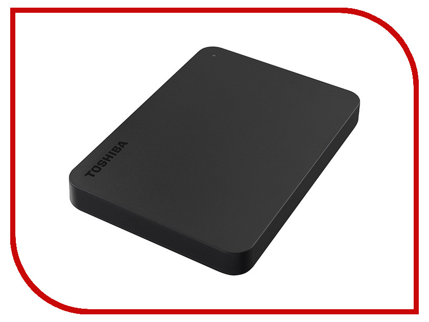 Жесткий диск Toshiba Canvio Basics 500Gb Black HDTB405EK3AA