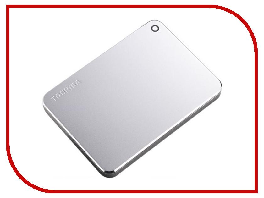Жесткий диск Toshiba Canvio Premium 1Tb Silver Metallic HDTW210ES3AA
