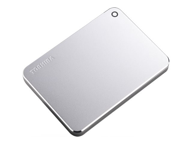 купить Жесткий диск Toshiba Canvio Premium 1Tb Silver Metallic HDTW210ES3AA по цене 3849 рублей