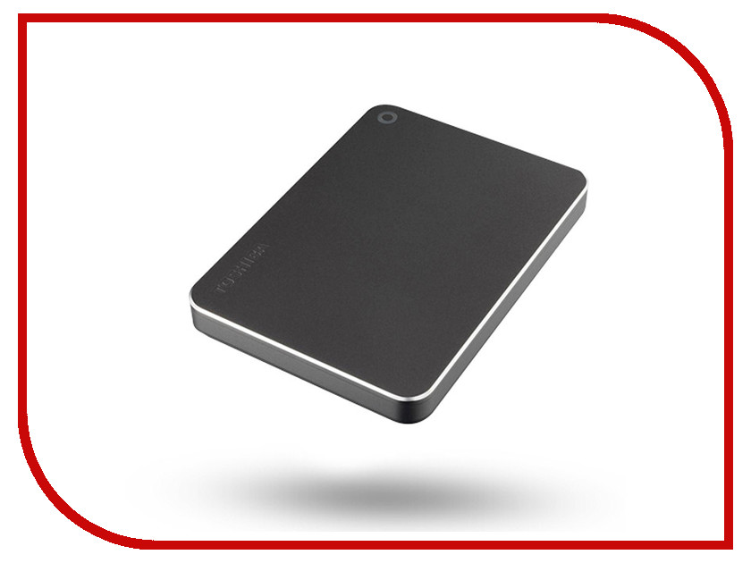 Жесткий диск Toshiba Canvio Premium 1Tb Dark Grey Metallic HDTW210EB3AA