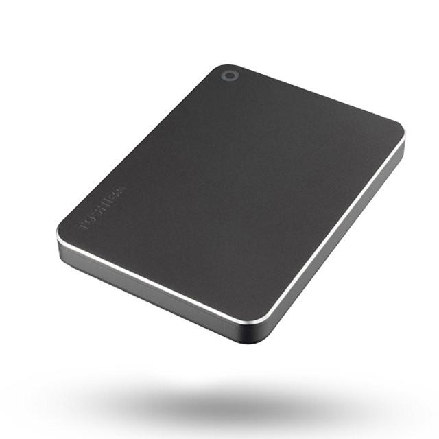 Жесткий диск Toshiba Canvio Premium 2Tb Dark Grey Metallic HDTW220EB3AA