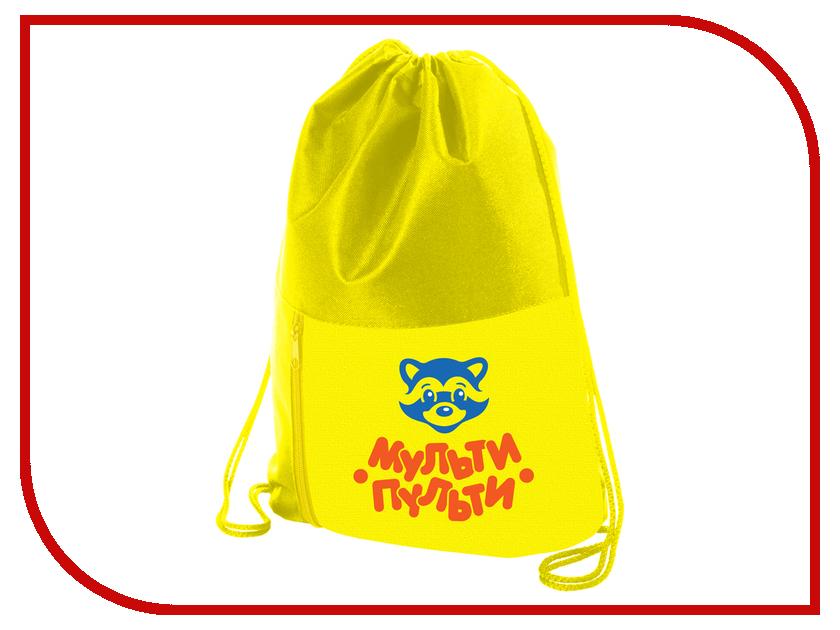 Мешок для обуви Мульти-пульти Приключения Енота Yellow МО_16395 256019 мульти пульти фартук детский с нарукавниками приключения енота цвет желтый