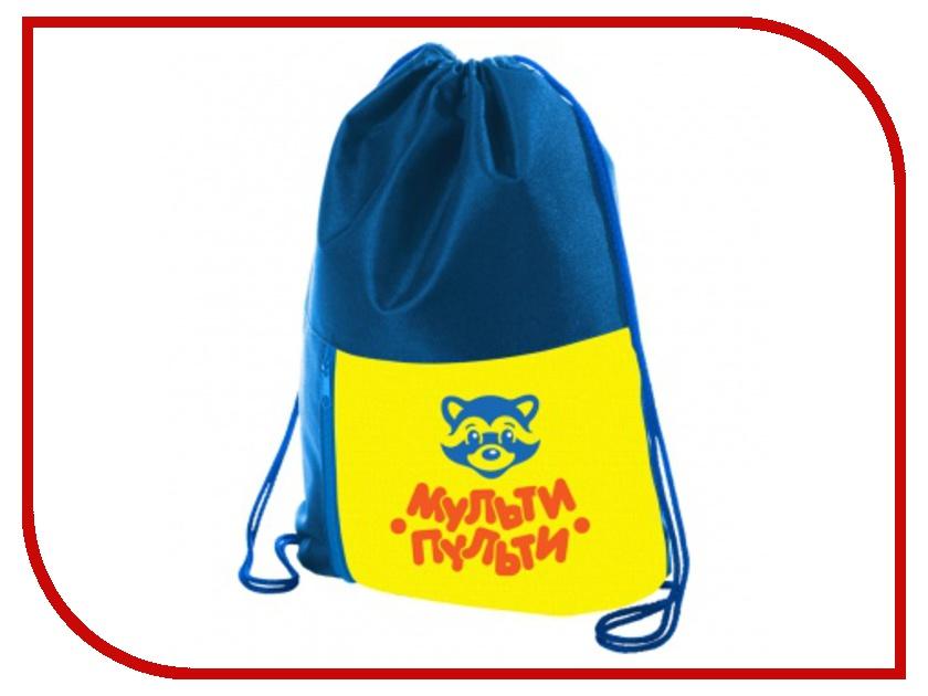 Мешок для обуви Мульти-пульти Приключения Енота Blue МО_16393 256018 мульти пульти фартук детский с нарукавниками приключения енота цвет желтый