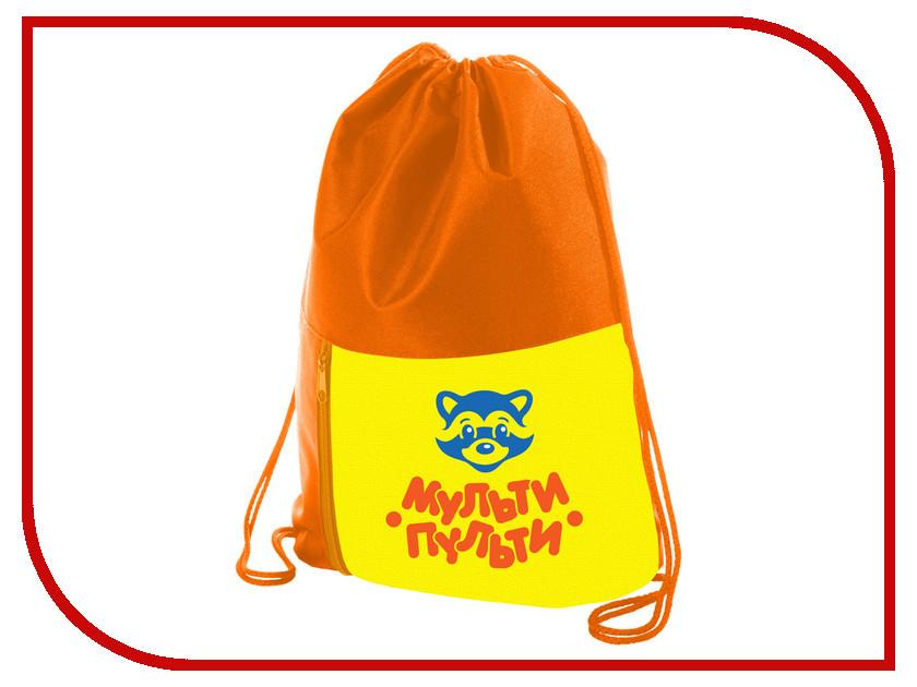 Мешок для обуви Мульти-пульти Приключения Енота Orange МО_16397 256020 мульти пульти фартук детский с нарукавниками приключения енота цвет желтый