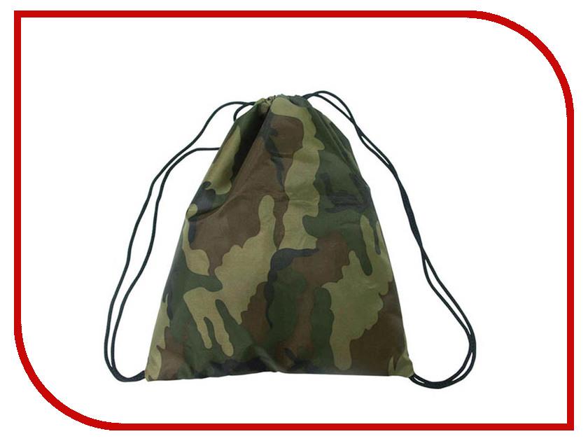 Мешок для обуви ArtSpace Green Camouflage М10_1204 171205 мешок для обуви artspace медведи м10 4122 201642