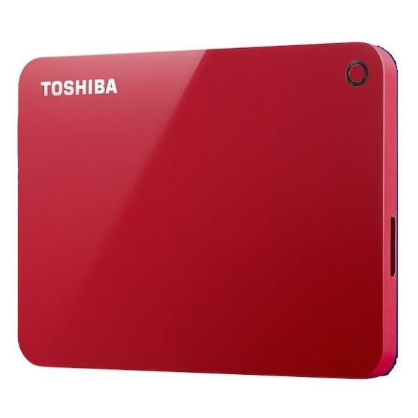 Жесткий диск Toshiba Canvio Advance 1Tb Red