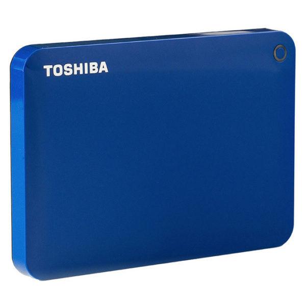 Жесткий диск Toshiba Canvio Advance 2Tb Blue цена и фото