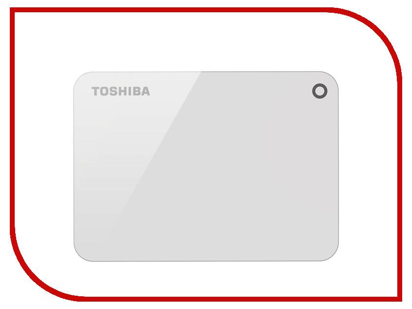 Жесткий диск Toshiba Canvio Advance 2Tb White