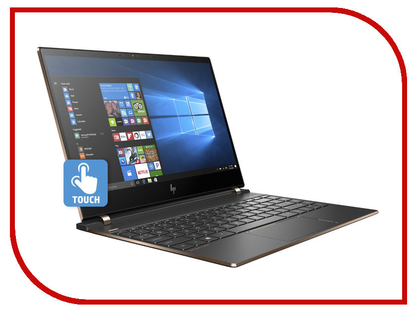 Ноутбук HP Spectre 13-af005ur 2PQ03EA (Intel Core i7-8550U 1.8 GHz/16384Mb/1000Gb SSD/No ODD/Intel HD Graphics/Wi-Fi/Cam/13.3/3840x2160/Windows 10 64-bit) nokotion 813969 001 laptop motherboard for hp 15 af abl51 la c781p mainboard full test