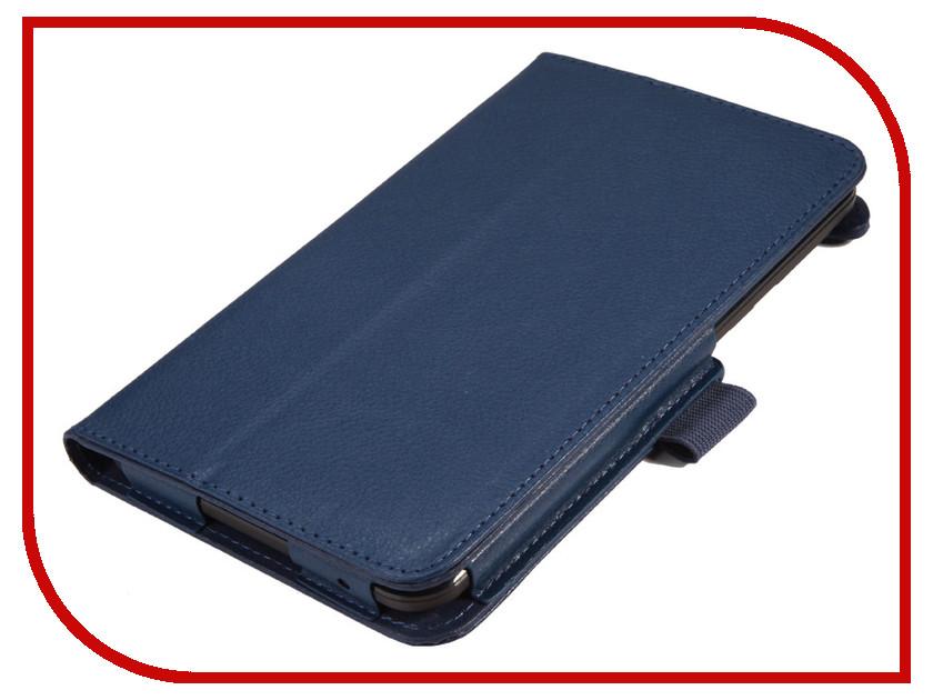 Аксессуар Чехол Lenovo TB3 Essential 710i/710F IT Baggage Blue ITLN710-4 чехол для asus zenpad z580c z580ca it baggage эко кожа черный
