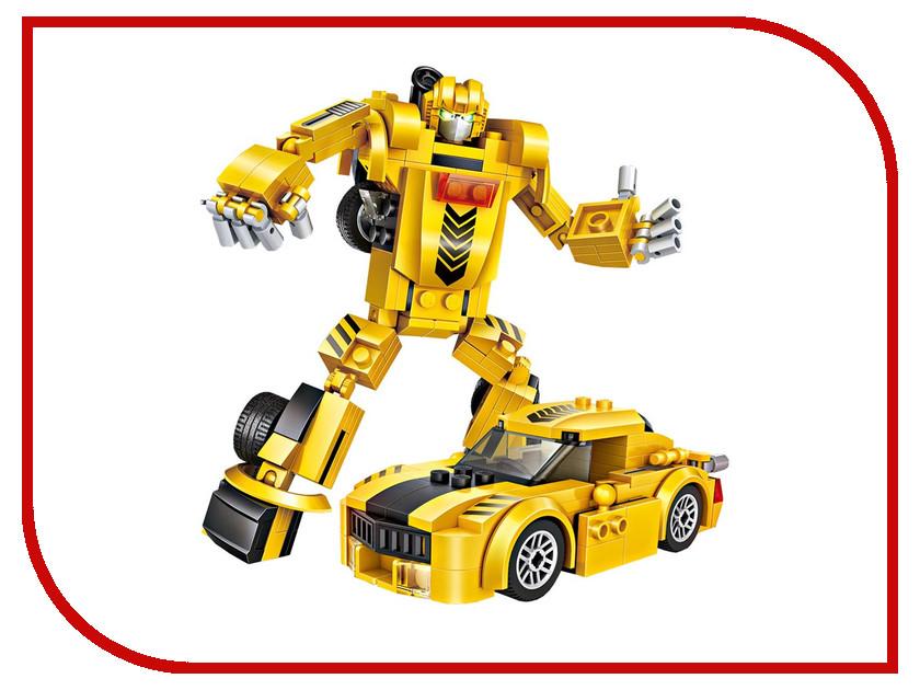 Конструктор LoZ Робот трансформер 158 дет. Yellow LZ1834 робот трансформер mengbadi 106 blue