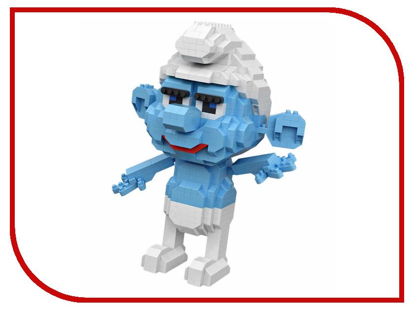 конструкторы loz конструктор синий гном смурф Конструктор LoZ Синий человечек 820 дет. LZ9755