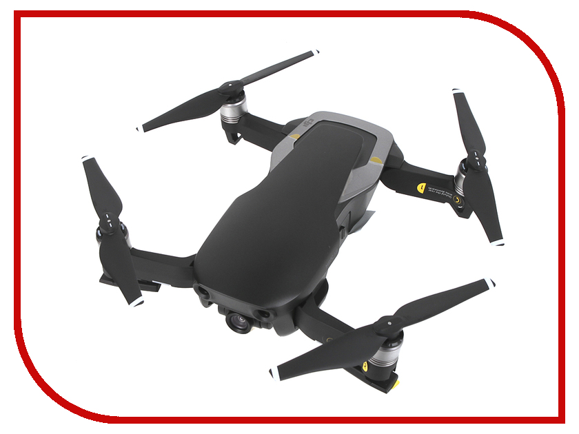Квадрокоптер DJI Mavic Air Onyx Black квадрокоптер dji mavic air fly more combo eu flame red