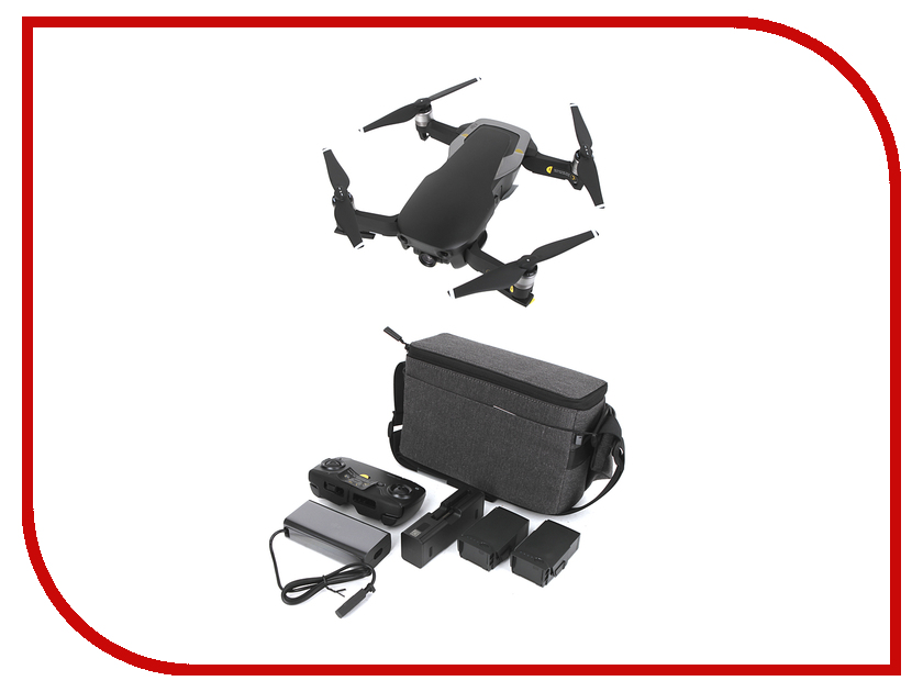 Квадрокоптер DJI Mavic Air Fly More Combo Onyx Black квадрокоптер dji mavic air black