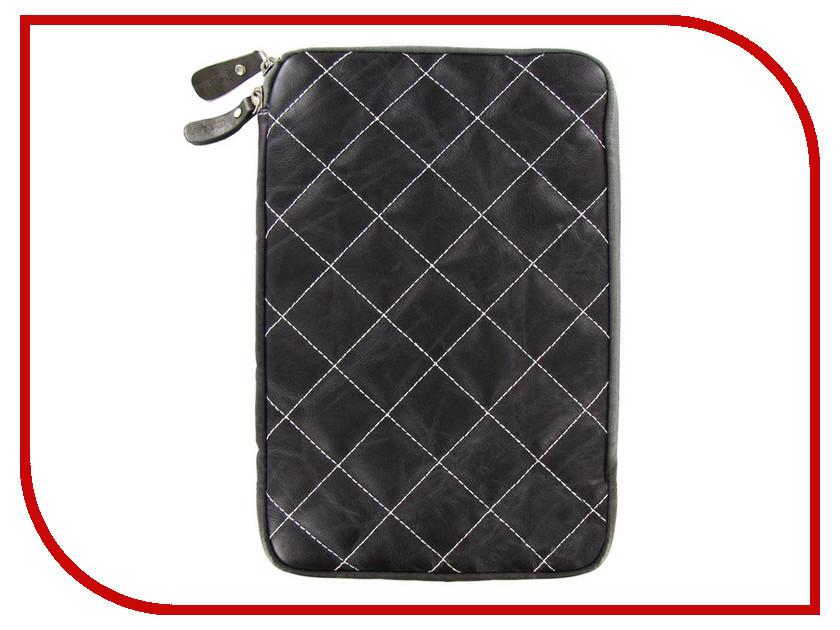 Аксессуар Чехол Krutoff Clever Rombo Series 10-inch Grey 21375
