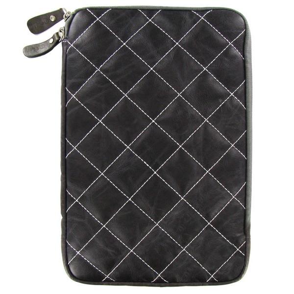 Аксессуар Чехол Krutoff Clever Rombo Series 10-inch Grey 21375 цена 2017