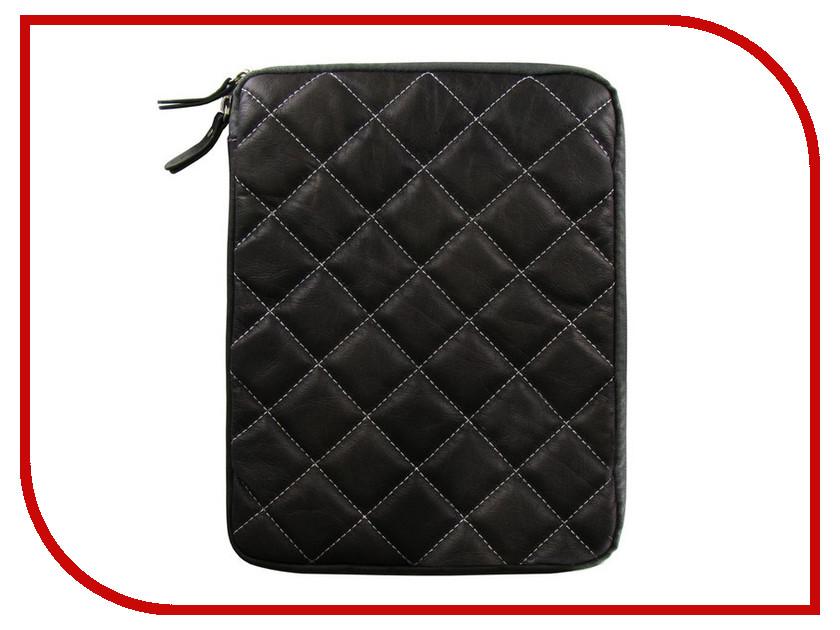 Аксессуар Чехол Krutoff Clever Rombo Series для APPLE iPad 2 Grey 21381