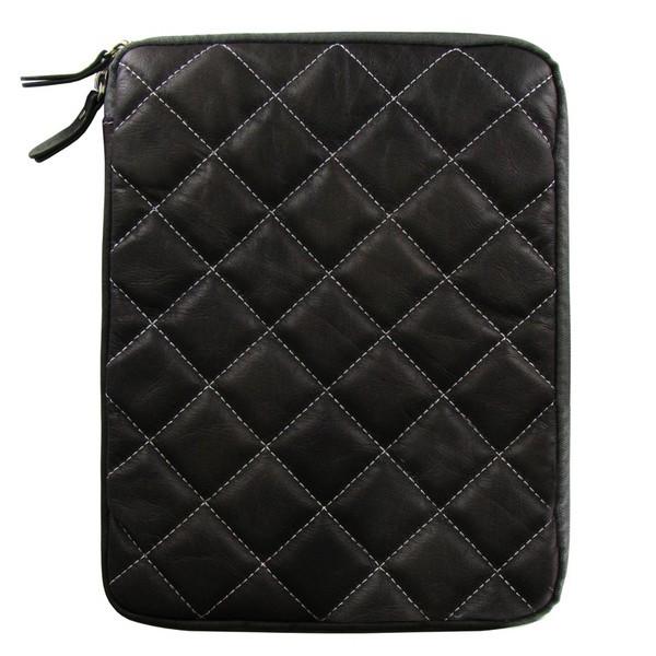 Аксессуар Чехол Krutoff для APPLE iPad 2 Grey Clever Rombo Series 21381