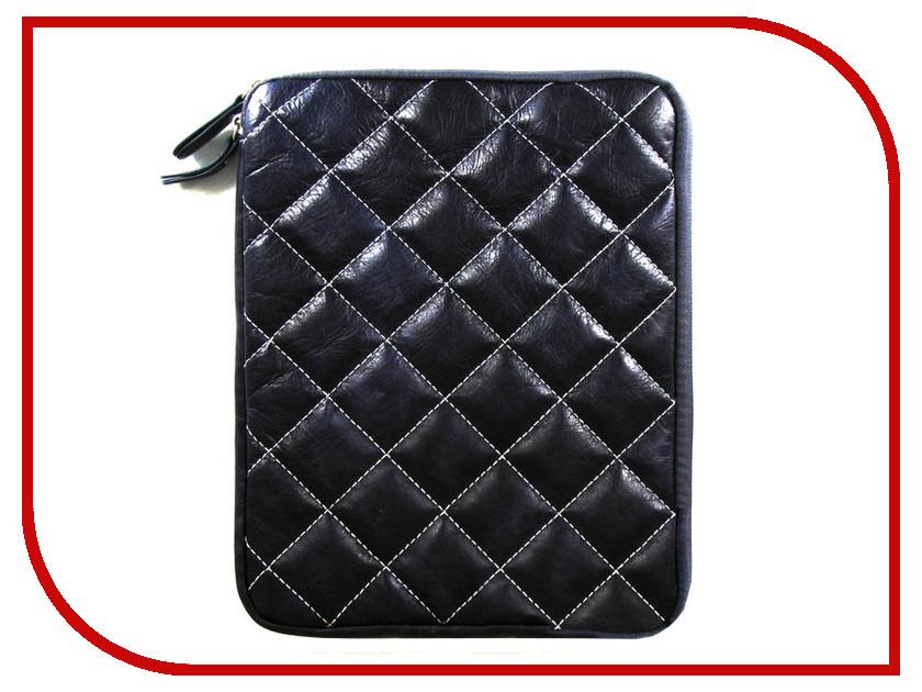 Аксессуар Чехол Krutoff Clever Rombo Series для APPLE iPad 2 Blue 21382 babyhit clever blue