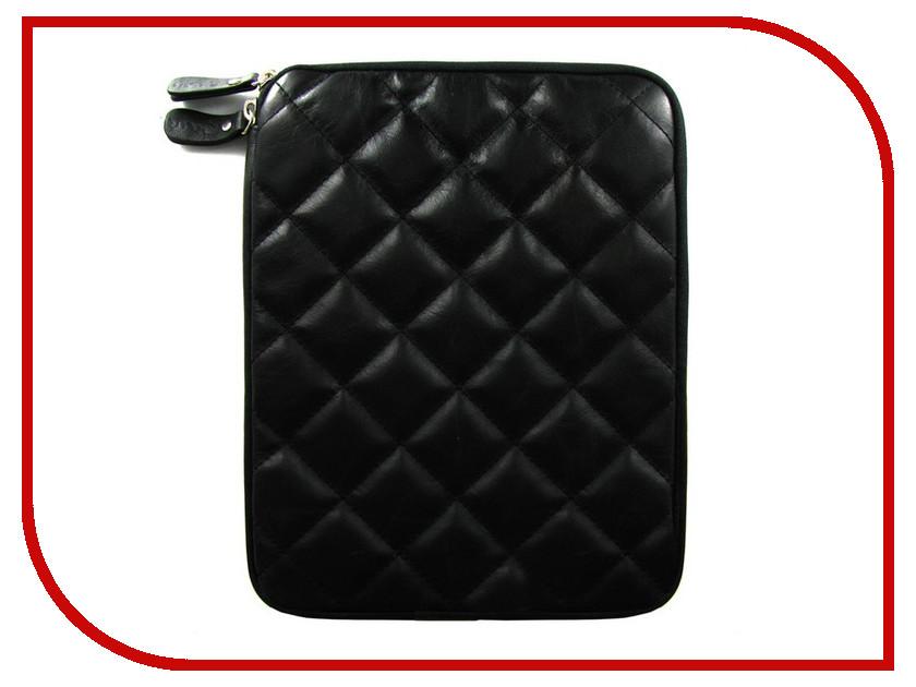 Аксессуар Чехол Krutoff Clever Rombo Series для APPLE iPad 2 Black 21383