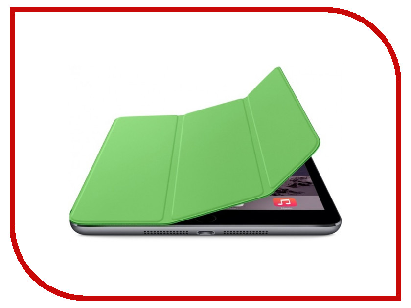 Аксессуар Чехол Krutoff Clever Total Protection Kit для APPLE iPad 2 Green 10212