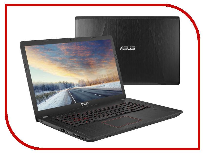 Ноутбук ASUS ROG FX753VE-GC183 90NB0DN3-M02910 (Intel Core i7-7700HQ 2.8 GHz/8192Mb/1000Gb/No ODD/nVidia GeForce GTX 1050Ti 4096Mb/Wi-Fi/Cam/17.3/1920x1080/DOS) ноутбук msi gp72 7rdx 484ru 9s7 1799b3 484 intel core i7 7700hq 2 8 ghz 8192mb 1000gb dvd rw nvidia geforce gtx 1050 2048mb wi fi bluetooth cam 17 3 1920x1080 windows 10 64 bit