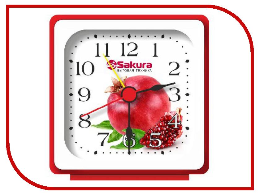 Часы Sakura SA-3Б-A1 Гранат White