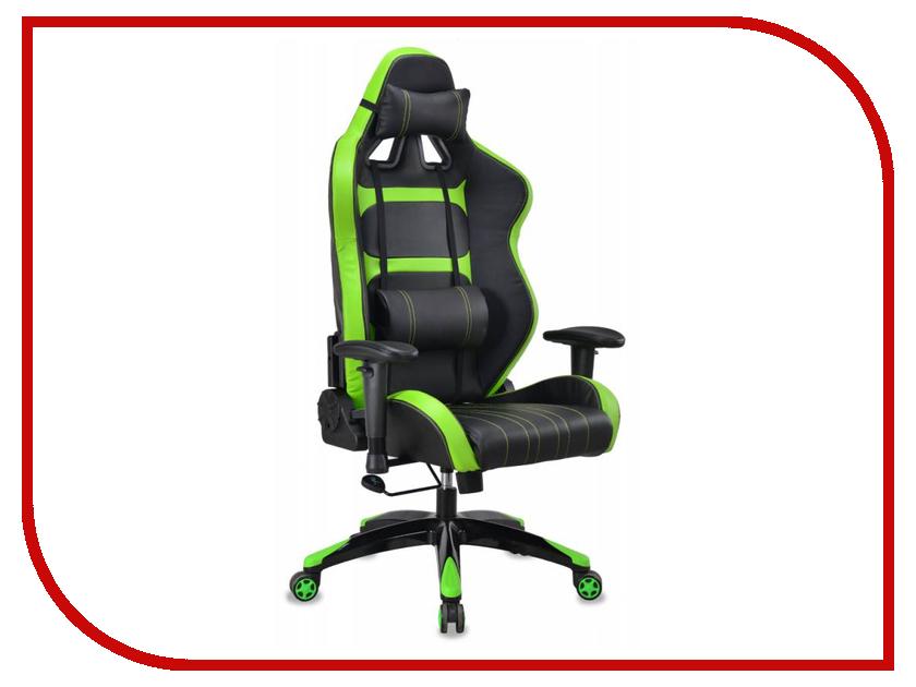 Компьютерное кресло Бюрократ CH-772 Black-Light Green