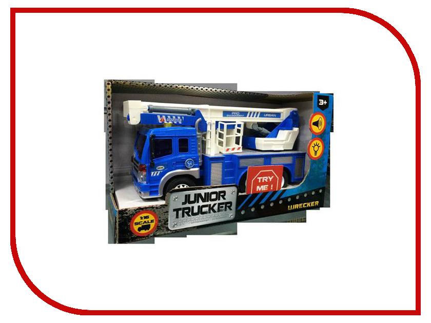 Игрушка Dave Toy Junior Tracker Автокран 33019 автотрек dave toy автомойка 32033