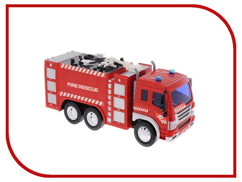 Игрушка Dave Toy Junior Trucker Fire Rescue 33016 bizzy bear fire rescue