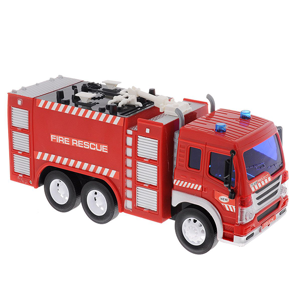 Игрушка Dave Toy Junior Trucker Fire Rescue 33016 игровой набор dave toy dave toy