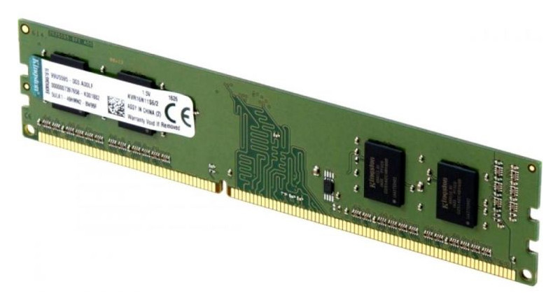 Модуль памяти Kingston DDR4 DIMM 2400MHz PC4-19200 CL17 - 4Gb KVR24N17S6/4