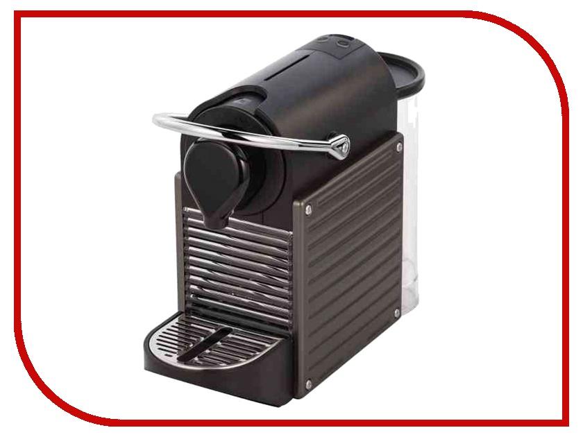Кофемашина Nespresso Pixie C60 Titan кофемашина капсульная nespresso pixie c 60