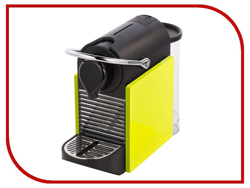 Кофемашина Nespresso Pixie Clips C60 Black/Lemon delonghi nespresso pixie clips en 126 капсульная кофемашина