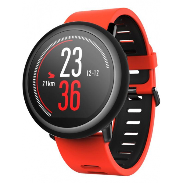 Умные часы Xiaomi Amazfit Red / Pace Smartwatch Red умные часы xiaomi pace a1612 черный