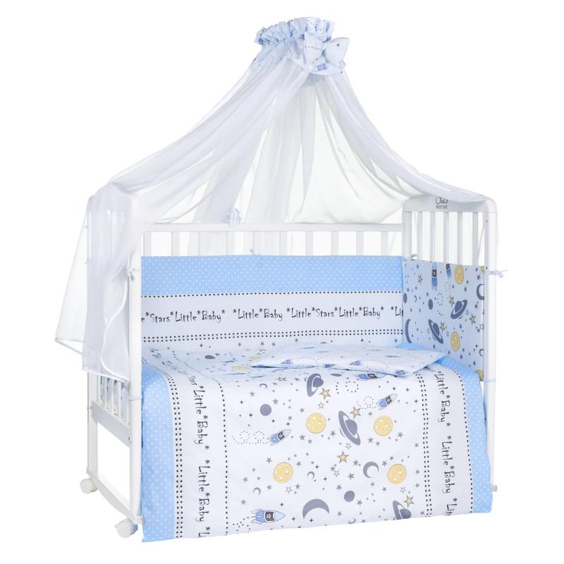 Комплект SWEET BABY комплект в кроватку Cosmo 7 предметов матрас в кроватку sweet baby favorite plus 119х59х12