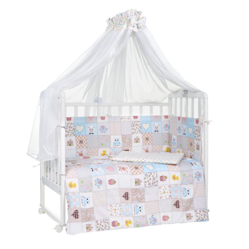 купить Комплект Sweet Baby Cella Сатин Light Beige 412845 по цене 2923 рублей