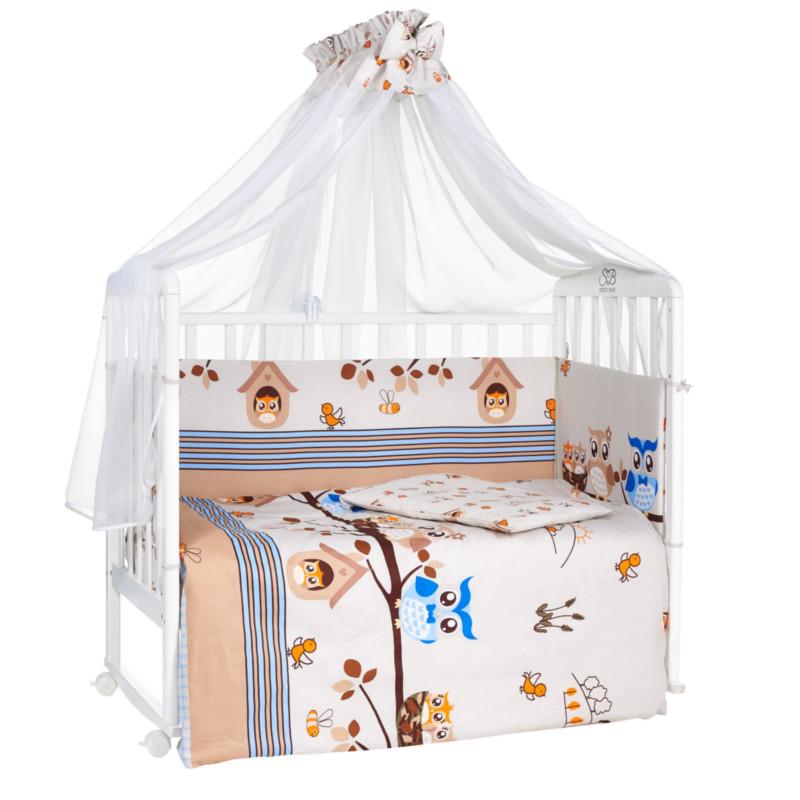 купить Комплект Sweet Baby Allocco Сатин Marrone 412844 по цене 2923 рублей