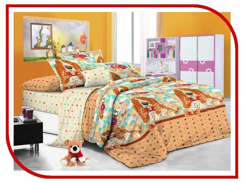 Постельное белье Sweet Baby Grande Cucciolo Комплект 1.5 спальный Поплин 412622 roomble декоративный цветок в горшке baby bird grande