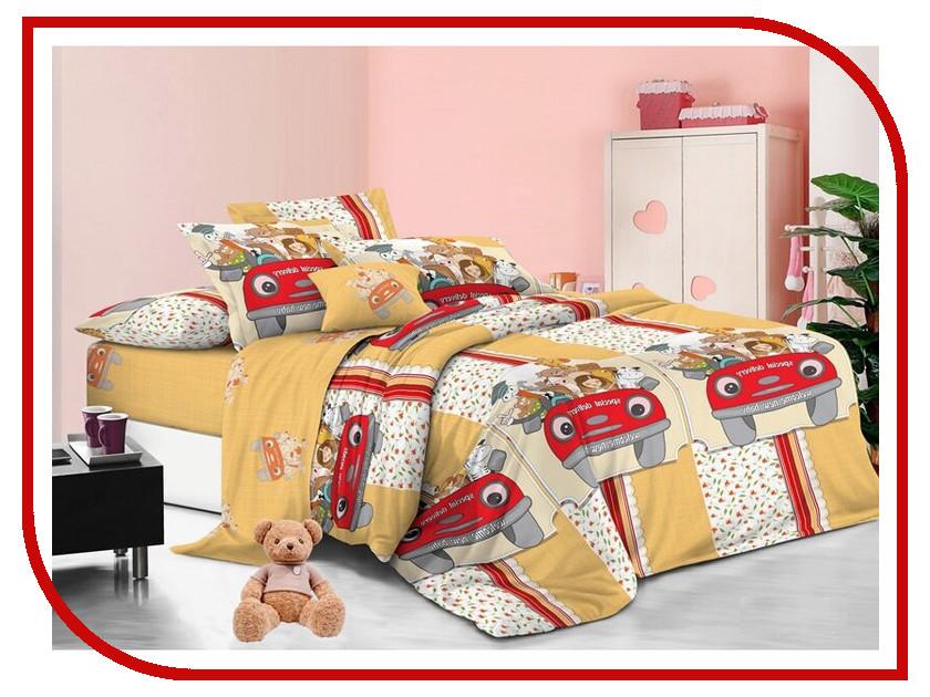 Постельное белье Sweet Baby Grande Motore Комплект 1.5 спальный Поплин 412623 roomble декоративный цветок в горшке baby bird grande