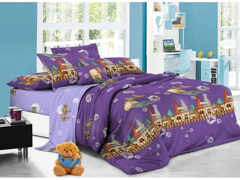 купить Постельное белье Sweet Baby Grande Castello Комплект 1.5 спальный Поплин 412626 по цене 1018 рублей