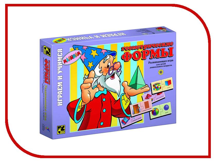 где купить Настольная игра Step Puzzle Геометрические формы 76005 по лучшей цене