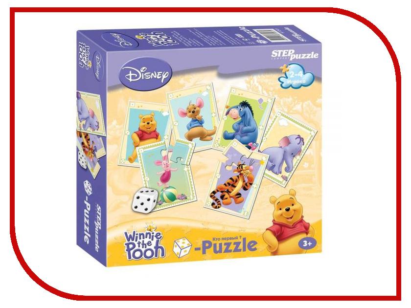 Настольная игра Step Puzzle Медвежонок Винни 87203 пазл 3d 60 элементов step puzzle disney винни пух 98108