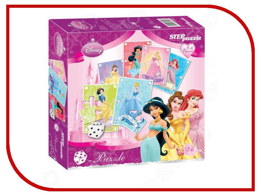 Пазл Step Puzzle Кубик-Puzzle Принцессы 87206